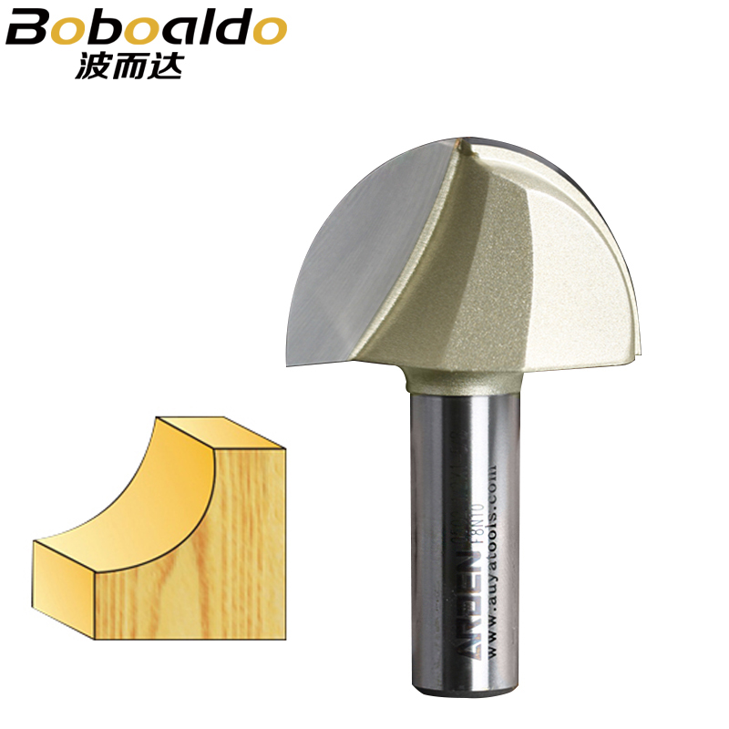 1pcs 1/4 1/2 Shank Round Nose Cove Core Box Cutter Tools Round Bottom Decorative Woodworking CNC Tools Arden Router Bit1pcs 1/4 1/2 Shank Round Nose Cove Core Box Cutter Tools Round Bottom Decorative Woodworking CNC Tools Arden Router Bit