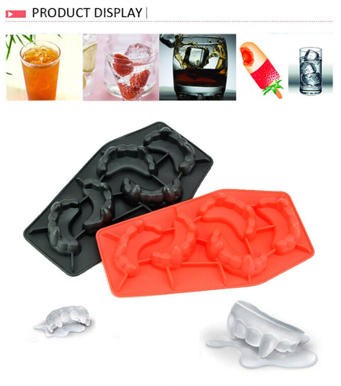 Creative Ice Cream Cube Makers Vampire Teeth Silicone Ice Trays Mold  Homemade Eco Friendly Kitchen Supplies S69 Free Shipping In Ice Cream  Makers From Home ...