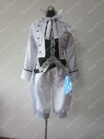 Black Butler Charles Grey Cosplay Costume Anime Bianco Custom Made Uniform