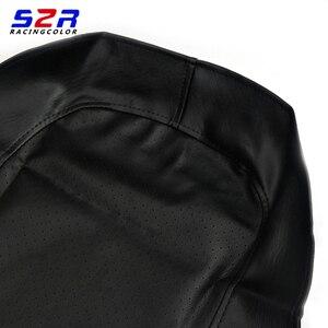 Image 3 - S2 r غطاء مقعد الدراجة النارية لياماها YBR125 YS150 YBR YB 125 YS150 العالمي سكوتر وسادة جلدية