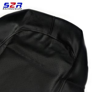 Image 3 - S2R אופנוע מושב כיסוי עבור ימאהה YBR125 YS150 YBR YB 125 YS150 אוניברסלי קטנוע כרית עור מקרה