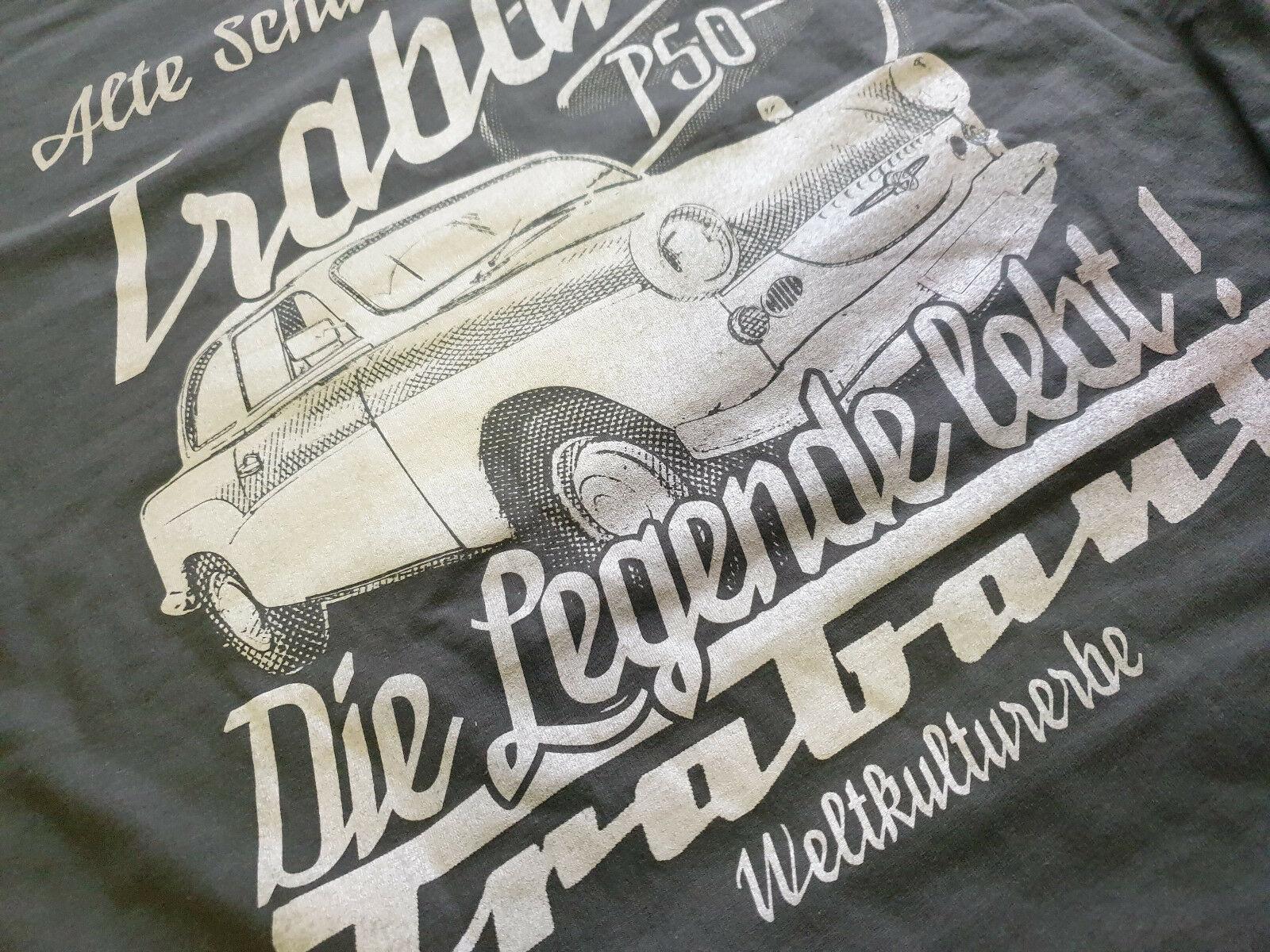 Trabant Die Legende T-Shirt Kult S51 DDR Trabant OSTKULT Weltkulturerbe P50