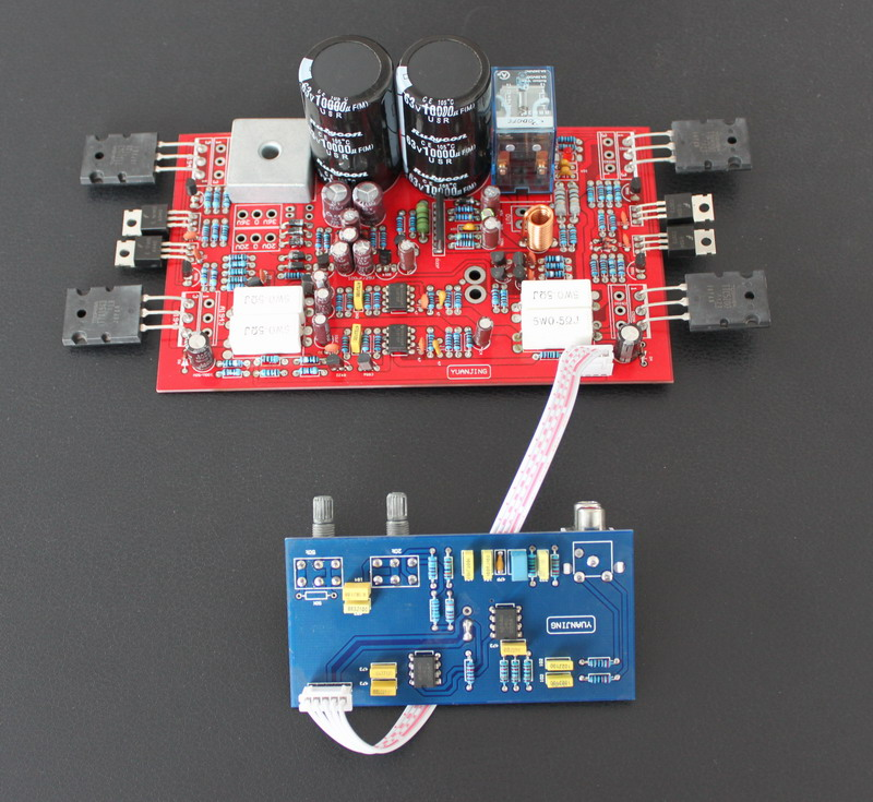 250W8ohm 300W4ohm font b Subwoofer b font font b amplifier b font board The relay protection