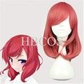 Free Hair Cap Lovelive Love Live Anime Cosplay Wigs Nishikino Maki Christmas Party Hair Heat Resistant