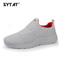 Running Shoes Men Breathable Mesh Sneakers Slip On Outdoor Sports Shoes Men Fitness Walking Shoes