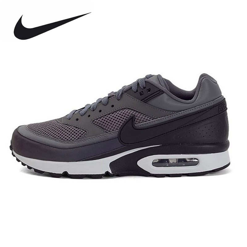 Original New Arrival Authentic Nike Air Max BW 3M Dark Grey Men's Breathable Running Shoes Sports Sneakers Trainers очки nike optics ignition dark magnet grey white max outdoor lens
