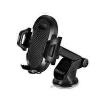 GravityCar Holder For Phone in Car Suction Cup Long Rod Automatic No Magnetic Mobile Phone Holder Stand Support For iPhone X 7 стоимость