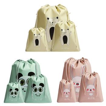 1 sztuk zwierzęta kreskówkowe herbata prezent torba rozmaitości organizacja torby odzież dla dzieci buty podróżne bielizna wiązka tanie i dobre opinie wu fang CN (pochodzenie) Other SALON Ekologiczne Torba kompresyjna Trójwymiarowe ROUND Podróży A602116