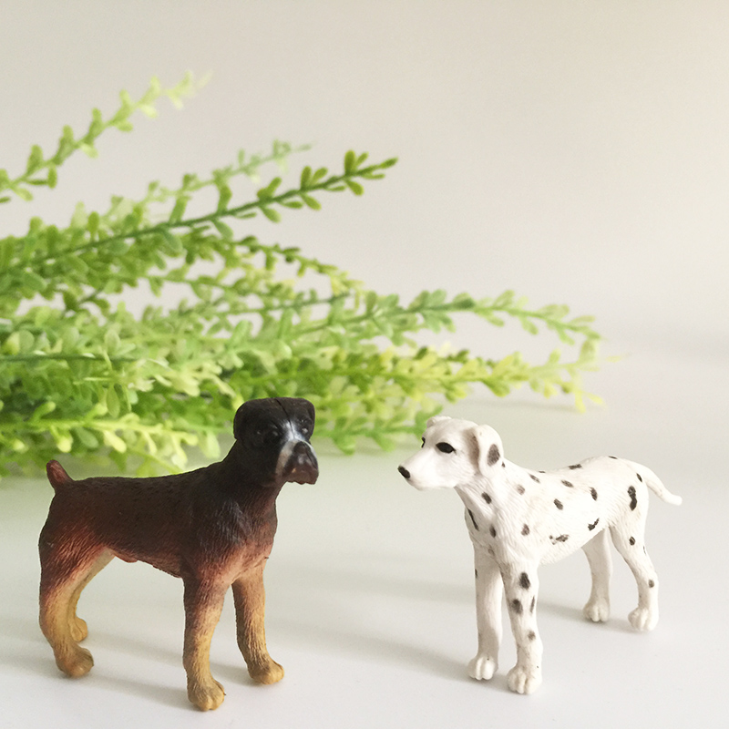 sale~1Pcs spotty/dog/puppy/fairy garden gnome/moss terrarium decor/crafts/bonsai/bottle garden/home table decor/c040a-b