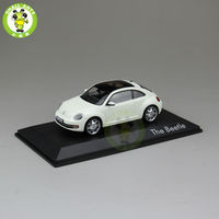 1 43 Scale VW Volkswagen Beetle Diecast Car Model Toys White