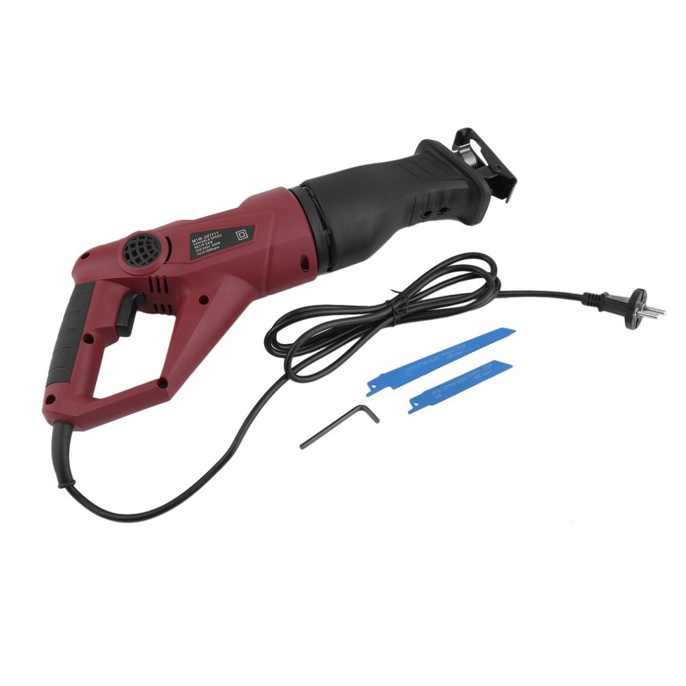 Professional Electric Saw For Wood Metal Cutting Universal 950W Reciprocating Saw Saber With Powerful Motor EU Plug Power Tool все цены