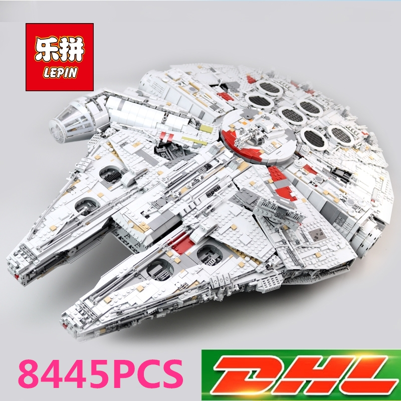Lepin 05132 Star Destroyer Millennium Falcon LegoINGs 75192 Bricks Model Building Blocks Educational Toys Christmas gift lepin 21012 ideas the beatles yellow submarine drag racer car building blocks bricks toys for children christmas gift legoings