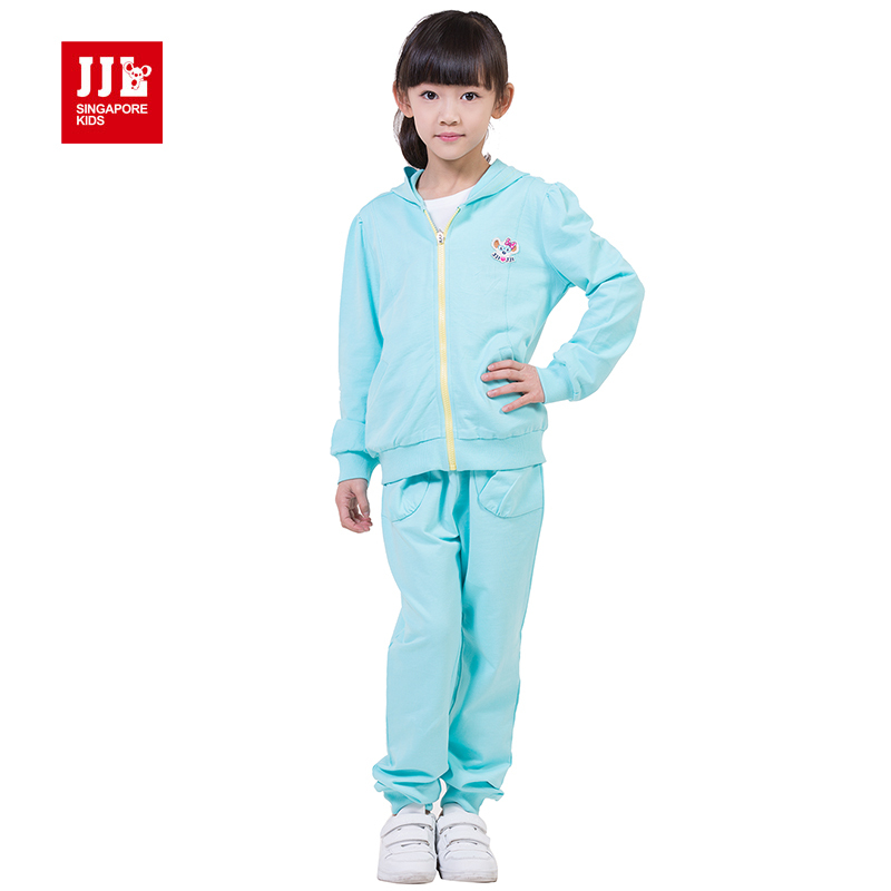 jjlkids spring girls suit coat trackpants kids outfits