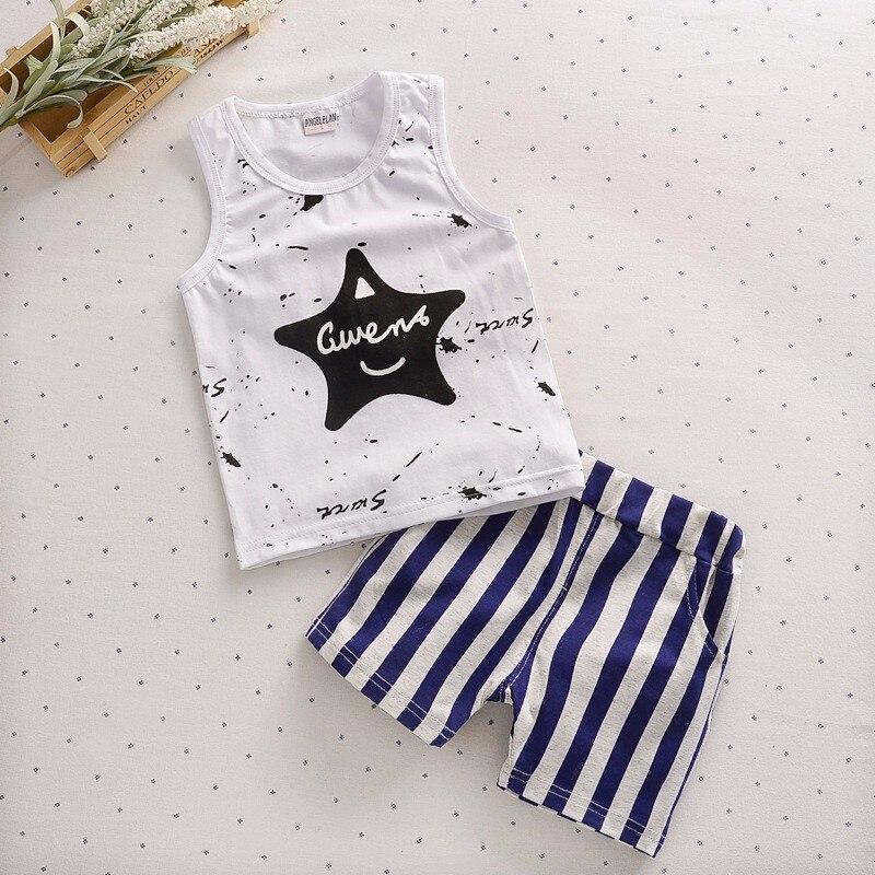 Ребенок мяч для маленьких мальчиков одежда 1-4 года Детская наборы летняя пляжная одежда ...