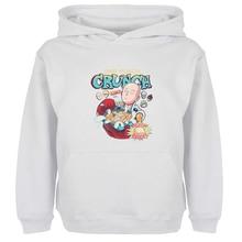 Unisex Sweatshirts For Boy Men Long sleeves ONE PUNCH-MAN Crunch Saitama Design Spring Autumn Winter Casual Hoodies