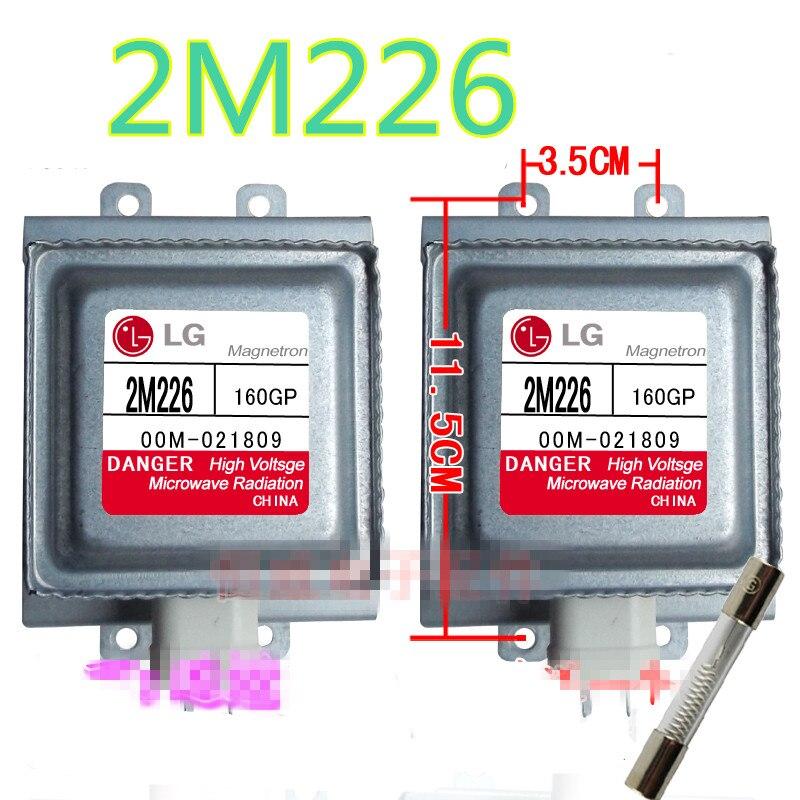 1 pcs Véritable origine Magnétron 2M226 adaptateur LG Magnétron Micro ondes Four Pièces, Micro ondes Four Magnétron Lg de la magnétron dans Pièces de four à micro-ondes de Appareils ménagers