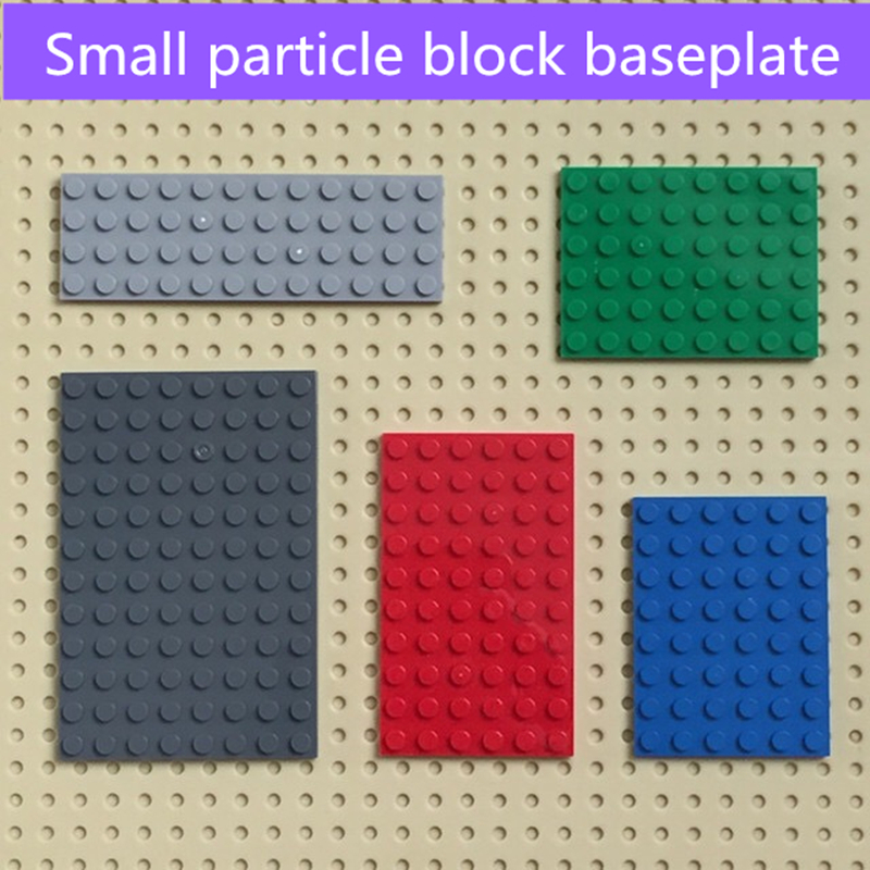 100g/lot  Building Block Thin Bricks 4 Size Compatible With KNOWN BRAND Educational Toys For Children