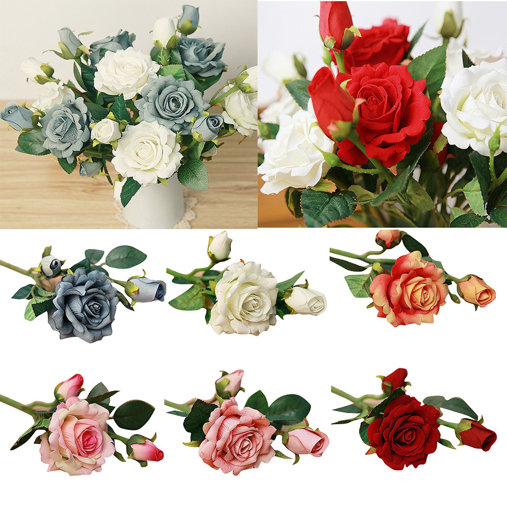 5pcs latex touch wedding decoration artificial flowers cheap for 5pcs latex touch wedding decoration artificial flowers cheap for decoration rose fake home decoration artificial flowers xtt izmirmasajfo
