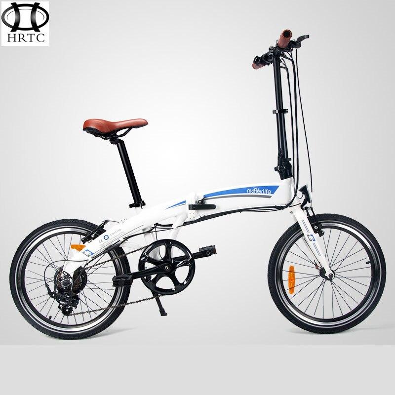 20 Fold Electric bike lithium battery electric font b bicycle b font font b folding b