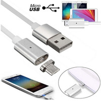Tracking Number 2 4A Micro USB Charging Data Cable Magnet Adapter For Samsung LG Android Smartphone