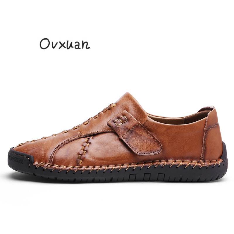 Black yellow Chaussures Automne Taille Grande D'affaires Brown Brown 46 Casual red Cuir Hommes Printemps En Doux Italien Mocassins Appartements Bureau Confortable 2019 gqnwRTI