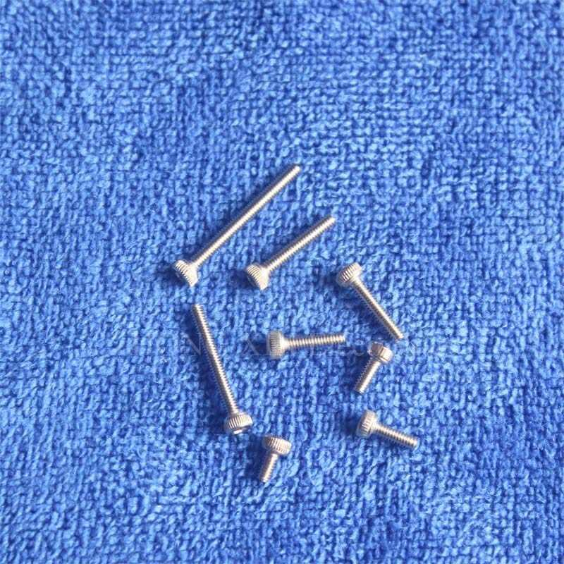 Tornillo tapa M2 * 4/5/6/8/10/12/16/20 acero inoxidable 304 hexagonal cabezal con Conector hexagonal Allen perno hexagonal muebles fijación
