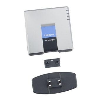 2 unids/lote PAP2-NA con caja de venta al por menor desbloqueado VoIP Linksys PAP2T mejor Linksys PAP2-NA adaptador de foto de internet sin adaptador de envío