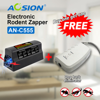 Buy Aosion Free Shipping Hot Black Electronic Mouse Rat Rodent Killer Electric Trap Zapper Pest Control