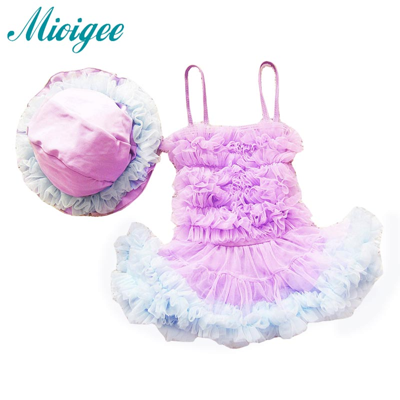 Girls Swimming 2017 Summer Baby Girls Swimsuit One Piece Children Fashion Beachwear Swimwear Lovely Baby Bath Suit for 0-2 years