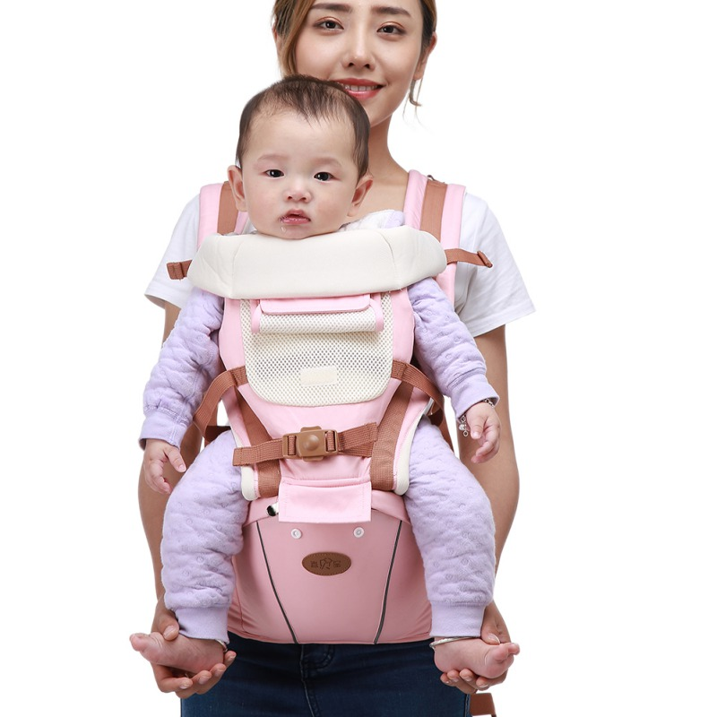 Comfortable Ergonomic Baby Carrier 6 In 1 Hipseat Sling For Newborns 0-36 Months Prevent O-type Legs Baby For 25kg Kid