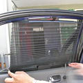 1 UNIDS Auto Automático de Persianas Cortina Del Sol-Shading Transpirable Automática Retráctil Cortina de Coches Ventana Lateral Envío Libre