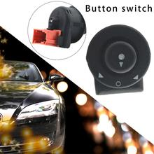 цены 1pcs Mirror Regulation Button Switch For Citroen Senna Elysee Picasso ABS Rearview Mirror Adjustment Button Switch