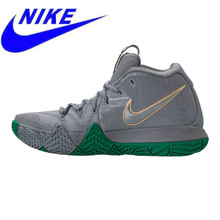 b17e86762b6 Original Nike Kyrie 4 City Guardians Men Basketball Shoes, Dark Grey,  Shock-absorbing