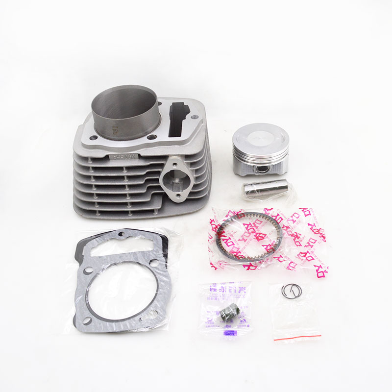 High Quality Motorcycle Cylinder Kit For 65.5mm Bore for CB250 CB 250 250cc Dirt Bike Off Road ATV Engine Spare Parts high quality motorcycle cylinder kit for