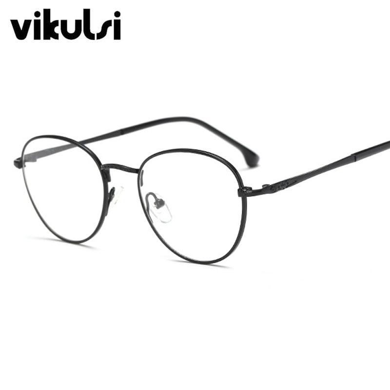 e49dfe6f775 Optical Frames Men Women Titanium Clear Lens Glasses Frames Men Brand  Titanium Eyeglasses Gold Shield Frame With Glasses-in Eyewear Frames from  Apparel ...