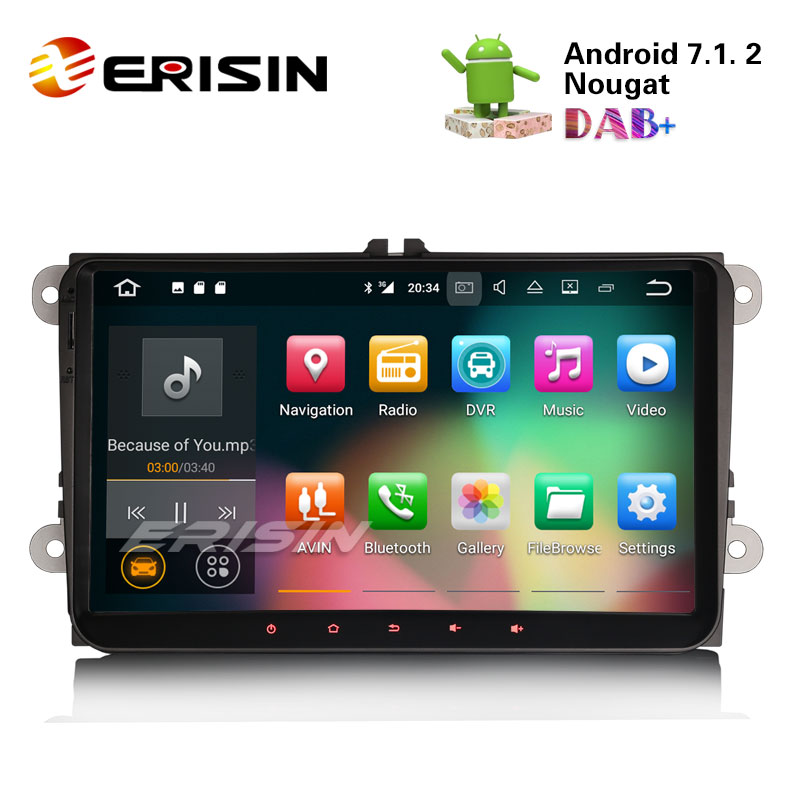 erisin es3718v 9 android 7 1 car radio stereo system gps. Black Bedroom Furniture Sets. Home Design Ideas