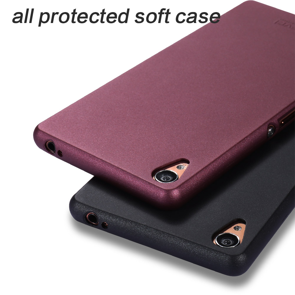 new style 06247 01f32 US $5.75 15% OFF|for Sony Xperia Z3 Case X Level Guardian thin Soft Matte  TPU Case for Sony Z3 D6603 D6643 D6653 D6616 silicone Scrub Back Cover-in  ...