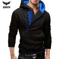 2016 Hot Sale Man Fashion Casual Sweatshirts Male Patchwork Color Popular Pockets Hoodies Men S Slim