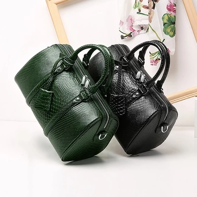 top quality Lady s leather pillow bag free shipping DHL