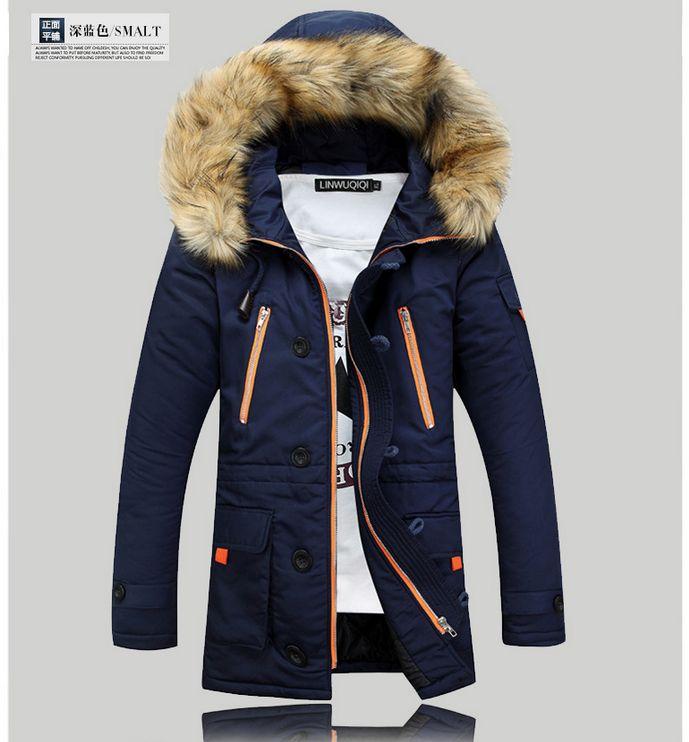 Livraison gratuite 2017 de mode hommes vers le bas veste pour garder au  chaud dans le long hiver hommes manteau veste dans Parkas de Mode Homme et  ... c5bf767e0b1f