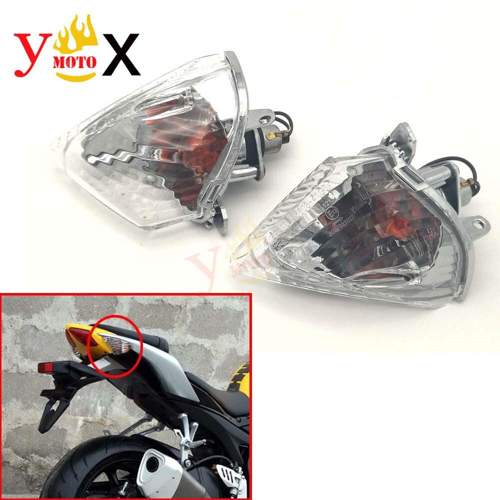 Rear Turn Signal Light Indicator Flasher Lamp Blinker Clear Lens For Suzuki GSXR600 GSXR750 K6 2006 2007 / GSXR1000 K5 2005 2006