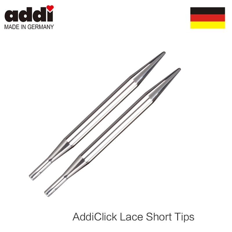 addi Click Bamboo Interchangeable Circular Knitting Needle Tips new