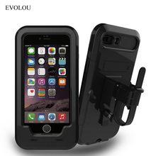 방수 자전거 전화 홀더 오토바이 전화 지원 스탠드 아이폰 XS 7 8 플러스 5S SE 충격 방지 케이스 SE 2020 홀더