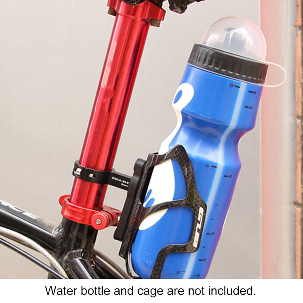 GUB G-21, велосипедные бутылки для воды клетка адаптер регулируемое Вращение велосипед бутылку воды стойки сиденье Руль бутылки держатель зажим
