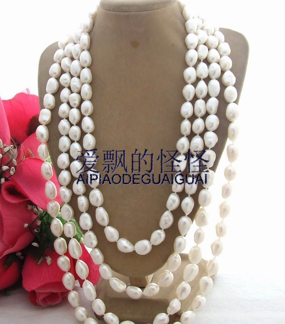 Amazing! 100 14MM Baroque Pearl NecklaceAmazing! 100 14MM Baroque Pearl Necklace