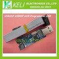 БЕСПЛАТНАЯ ДОСТАВКА 10 ШТ. Новый USBASP USBISP AVR Программист USB ATMEGA8 ATMEGA128 Поддержка Win7 64 К