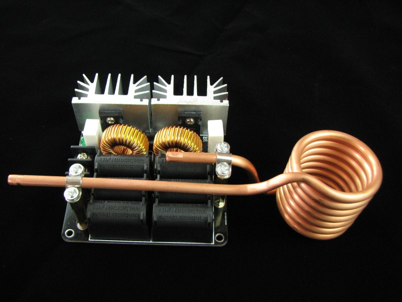 Melted metal ZVS induction heater High frequency heating machine Need to bring their own power