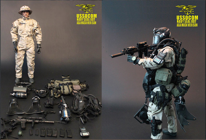 Very Hot Military 1//6  Set 1050 New US Army Navy Seal CQB The Last No More No
