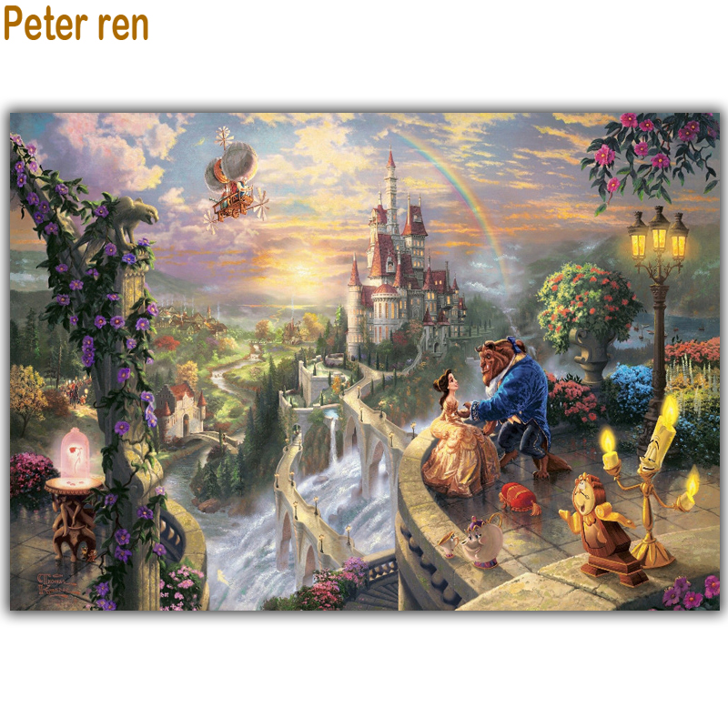 Peter ren Diy Diamond schilderij Borduurpakket Diamond embroidery - Kunsten, ambachten en naaien