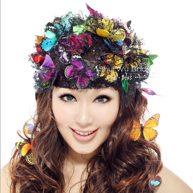 aliexpress buy butterfly hair 6 pieces lot vintage
